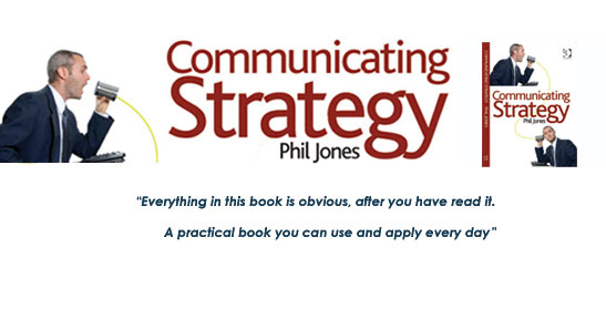 Communicating strategy book promotion
