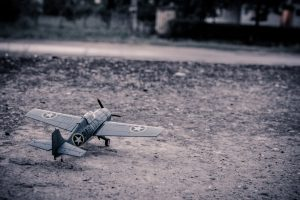 A model aircraft